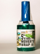 Plastique d'emballage 5″x1000′