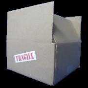 Boîte d'expédition 8X8X4
