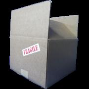 Boîte d'expédition 9X9X6
