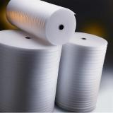Papier mousse blanc